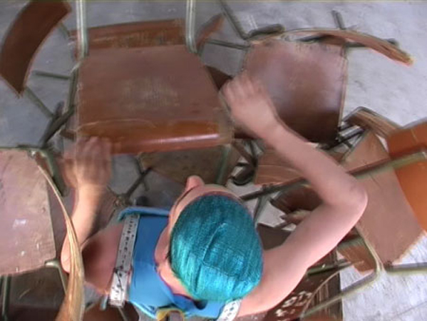 <a href='http://vimeo.com/30540501' target=_blank>Damien Berthier, Abou !, 2007. Vidéo 1 min. 30. © Damien Berthier.</a>