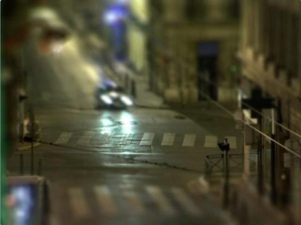 David Lasnier, Rue Breteuil, 2007. Vidéo 2 min. 16. © David Lasnier.