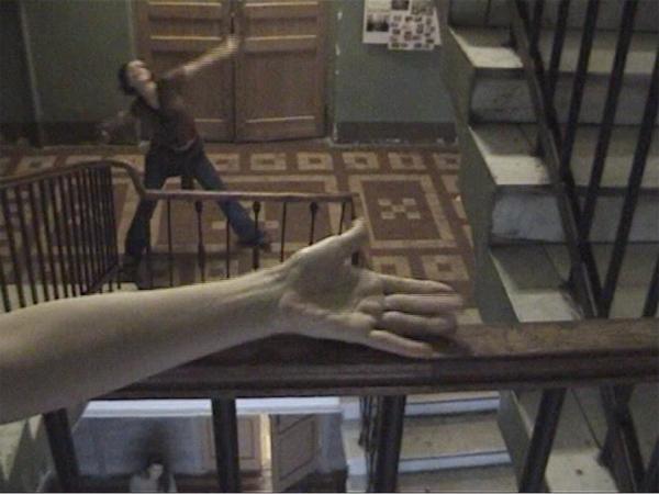 <a href='http://vimeo.com/22890307' target=_blank>Vladimir Smirnov-Lilo, Stairway, 2005. Vidéo, 1 min. 25. ©Vladimir Smirnov-Lilo</a>