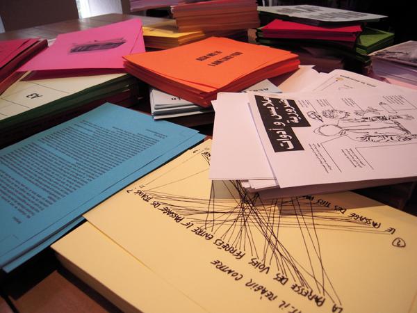 Ensemble de tracts du projet Cure d'Azote.