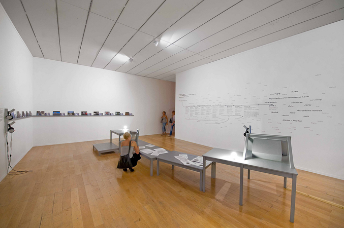 « Merci pour l'ajout », Musée d'Art Contemporain de Lyon, 2009. Photo : Blaise Adilon.