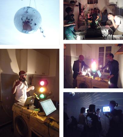 29.05.2009. « Mattei, c'est pourri, la Maison, c'est trop bon ! », Battle de Playlists entre Florent Mattei et la Maison. Un événement organisé dans le cadre des « Visiteurs du soir » (un événement Botox[s]).