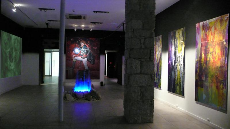 15.03.2008 > 26.04.2008. « Logique des confins ». Axel Pahlavi, Julien Sirjacq.