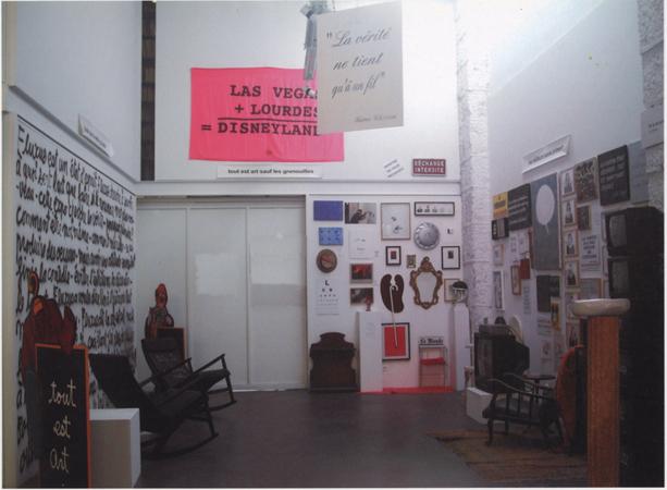 12.09.2003 > 12.10.2003. « Carte blanche à Ben ».Exposition organisée dans le cadre du « Festival Fluxus à Nice 1963 - 2003 ».